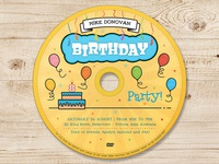 Kids Birthday Party DVD Cover - Volume 03