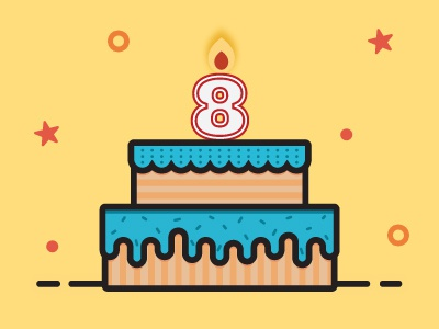 Kids Birthday Party Cake number candles yellow party cake birthday aniversary