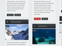 Antarctic Blog Theme