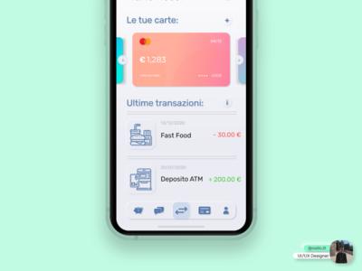 Banking App Design © app typography vector branding icon ux ui logo design illustration