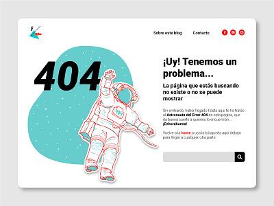 404 Page 👨🚀 404page illustration webdesign graphic design design ui