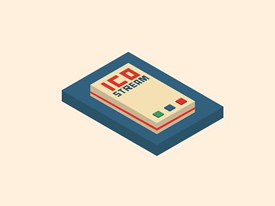 Stream Remote minimal illustration design vector flat