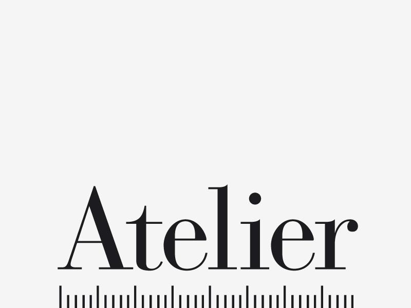 Atelier logo logo identity atelier brand store