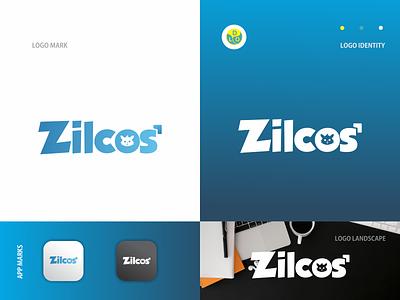 Zilcos - Logo cat logos flat app logo mark minimal icon logotype flat design design logo design logo