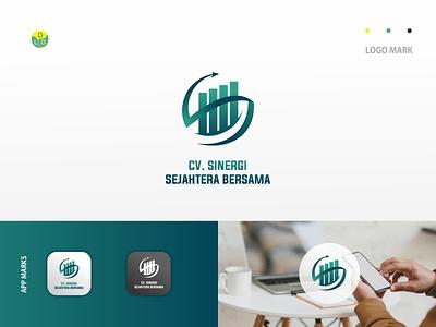 CV SSB - LOGO trading trade green brand design branding illustration logos app logo mark minimal icon logotype flat design design logo design logo