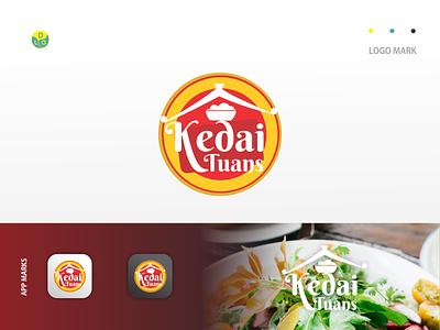 Kedai Tuans - Logo logos app logo mark minimal icon logotype flat design design logo design logo