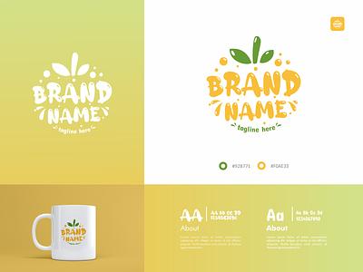 Fun Fruit Logo fun fruit business company branding ui minimal logotype icon flat design design logo design logo