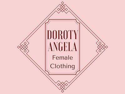 Logo for Fashion Week and clothing shops minimalist logo logodesign logotype
