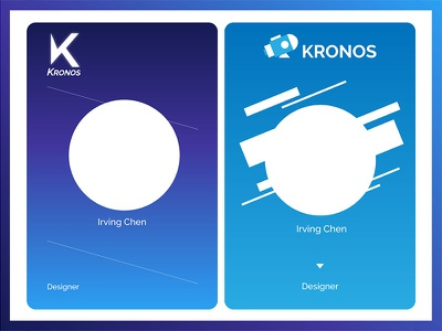 Proposal For Kronos | LOGO Design​​​​​​​ website ui branding illustration typography redesign web ui web design visual marketing visual design brand logo web design