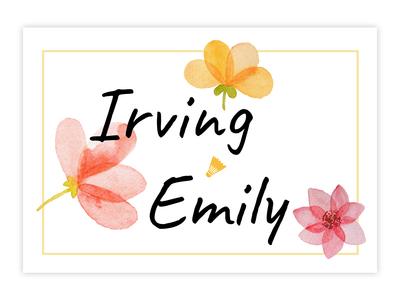 Wedding Invitation Card - IrvingLab
