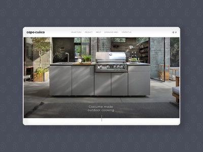 Web design branding graphic design art website vector minimal web ui design