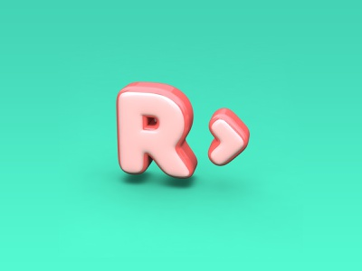3D 3d art illustration website web typography cinema4d 3d art ui graphic design design