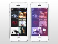 PXStock Mobile App Gallery Screen