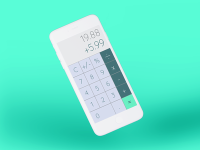 Daily UI #004 | Calculator
