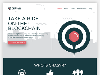 Chasyr Landing Page