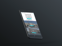 Fresno Office Space Landing Page - Mobile
