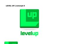 Level up logo concept 9