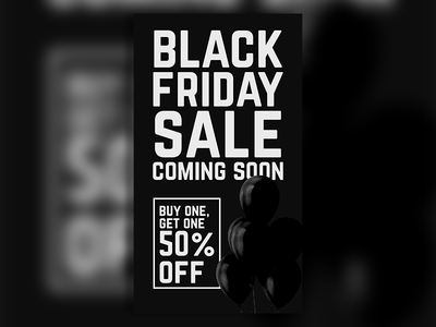 Black Friday Promotional Ad