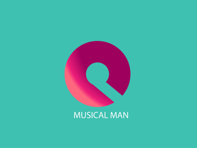 Music Logo illustrator flat minimal logo illustration graphic design design
