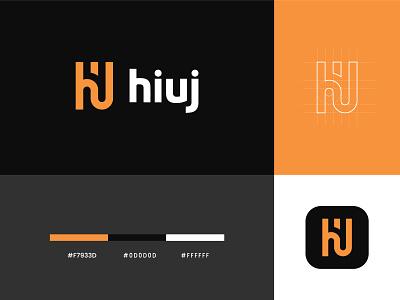 Hiuj Logo mascot logo branding logo designer logo design u logo j logo i logo h logo logo