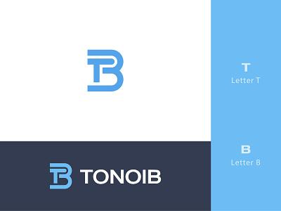 Tonoib Logo badge logo design logo design logo designer b log t logo logo
