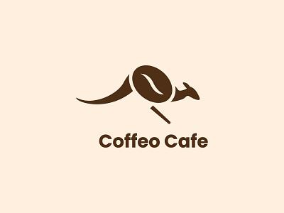 Coffelo cafe Logo illustration design branding logo designer logo design coffee logo