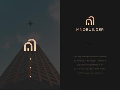 MNOBUILDER Logo illustrator illustration design branding logo design logo designer logo n logo m logo