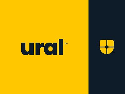 Ural Logo Design bank logo branding logo design logo designer logo ural logo u logo