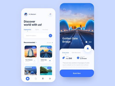 Travel App product design ios app mobile app mobile app typography ux ui travel travel app