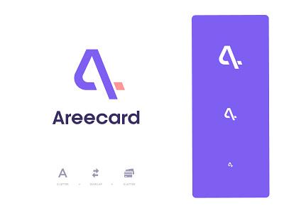 Areecard Logo brandmark design monogram type logo mark symbol branding icon logo designer logos mark logotype print logo design letter identity typography logo minimal brand