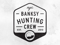 Banksy Hunting Crew