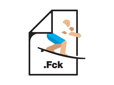 let's go surfing illustration surfing file fuck