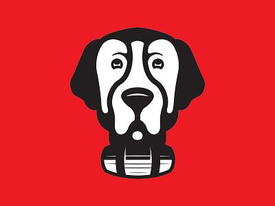 What up, Dawg. dog illustration stbernard