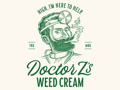 Dr. Z's Weed Cream high z doctor cbd thc marijuana cream weed