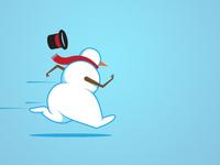 Snowman sprint