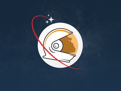 Space Monkey space monkey moon ape star illustration icon easy the-final-frontier