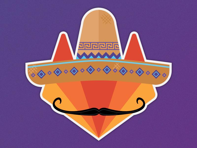 Sombrero Tanuki — GitLab Mexico Summit 2017 typography illustration team summit cancun swag design mexico gitlab git