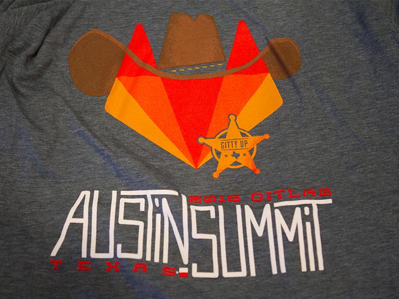 Throwback Thursday - GitLab Austin Summit 2016 2016 typography illustration team summit swag texas austin gitlab git