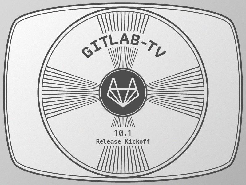 """Gitlab-TV """"Standby"""" Pattern pattern illustration retro standby tv pattern gitlab git"""