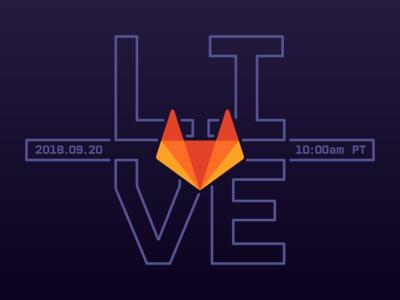 GitLab Live branding