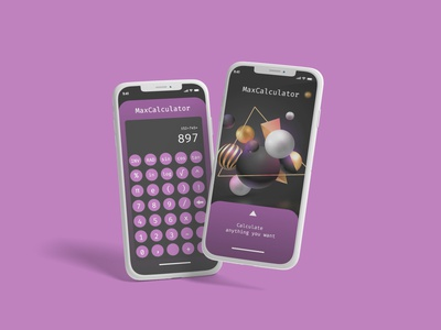 Daily Ui 004 - Calculator dailyuichallenge daily ui challenge adobe xd ui design ui dailyui calculator designer design app design