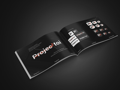 Brand guidelines Projec'toi guidelines design branding design brand identity brand design branding brand graphic design graphicdesign designer