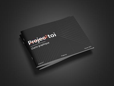 Brand guidelines Projec'toi logo branding design brand identity brand design branding brand graphic design graphicdesign designer design
