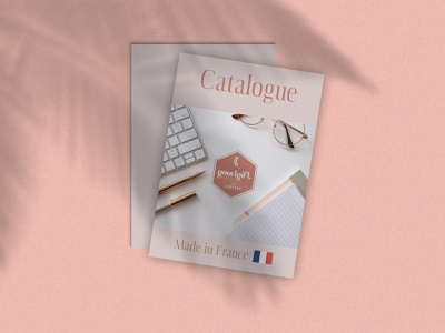 Catalogue cover Good Gift magazine cover design french design french graphic designer graphic  design graphicdesign magazine catalogue magazine cover cover catalogue cover