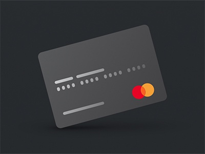Mastercard gradient credit card mastercard