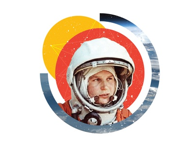 Space Wall Mural illustration mural space art space space exploration collage collage art