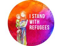 Refugee Sticker