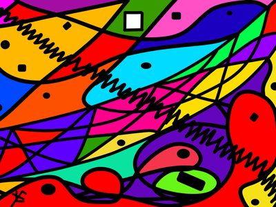 576-01 art abstract expressionism
