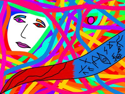 Hvergelmir hvergelmir 72 lf felfan len 2d illustration art symbolism expressionism abstract