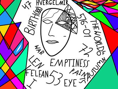 I felfan len lf i illustration 2d digital art symbolism expressionism abstract